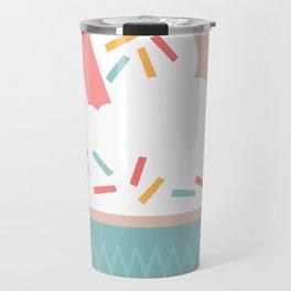 Ice Cream (Peach) Travel Mug