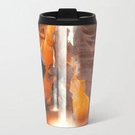 Antelope Canyon Beams Travel Mug
