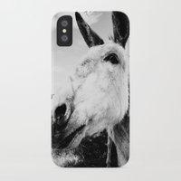 donkey iPhone & iPod Cases featuring Donkey by Irislynn