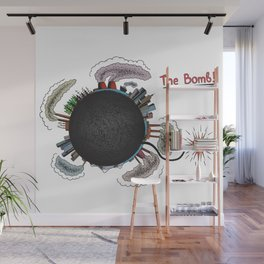Earth is in danger! Wall Mural