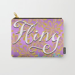 Fling by Jana Aston Carry-All Pouch