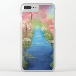 Blossoms in the Spring Clear iPhone Case