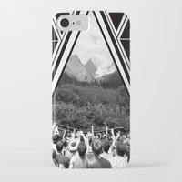 concert iPhone & iPod Cases featuring Mountain Concert by Claire Lester