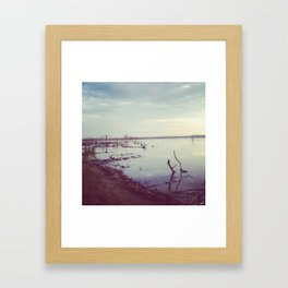 Lake Waco Framed Art Print