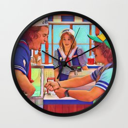 Ahoy Boys Wall Clock