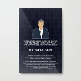 The Great Game - Greg Lestrade Metal Print
