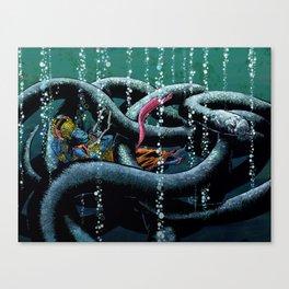 Vishnu Asleep  Canvas Print