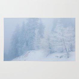 Frozen trees Rug