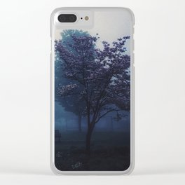 Morning Yearning Clear iPhone Case