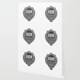 Retro Digital Stopwatch Wallpaper