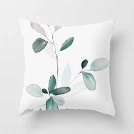 Bend Don't Break II Throw Pillow