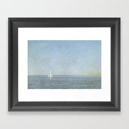 Sunday Sail  - Cape Cod Framed Art Print