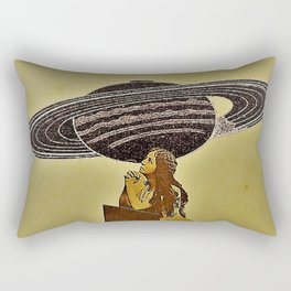 Some where, Out there. Rectangular Pillow