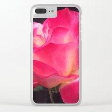 Grandma's Beautiful Rose Untouched Clear iPhone Case