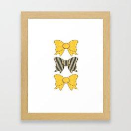 Sunshine Bows  Framed Art Print