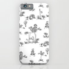 Black Toile Unicorn iPhone 6 Slim Case