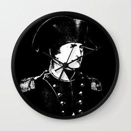 Napoleon Bonaparte Wall Clock