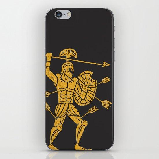 the warrior iPhone & iPod Skin