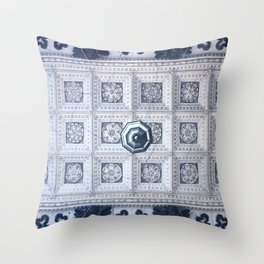 The ceiling of the hall of St. Isaac's Cathedral Throw Pillow
