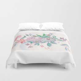 Ade's Blue China Pattern Duvet Cover