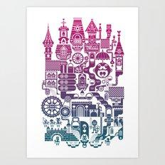 Castle Mama Art Print