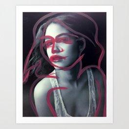 Adrienne Art Print