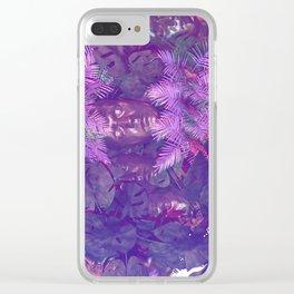 Lost jungle Clear iPhone Case