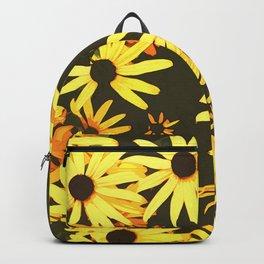 black eyed susan flowers Backpack