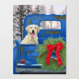 Pick-En Up The Christmas Tree Canvas Print