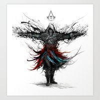 assassins creed Art Prints featuring assassins creed by ururuty