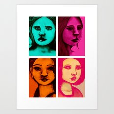 Colour Portraits I Art Print