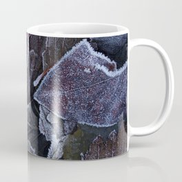 Frosty Leaves Coffee Mug