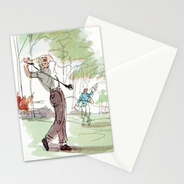 Are You Looking At My Putt? Vintage Golf Stationery Cards