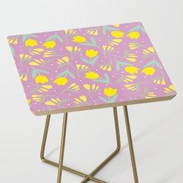 Tulip & Freesia Side Table