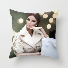 Date Night Throw Pillow