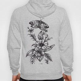 Flower Design Hoody