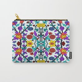 purple birds in roses Carry-All Pouch