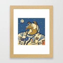 Laika (November 3rd, 1957) Framed Art Print