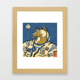 Laika (November 3rd, 1957) Framed Art Print