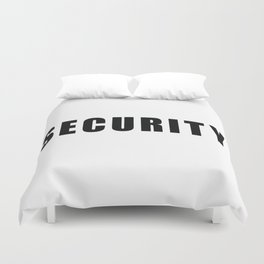 SECURITY TEE SHIRT inverse edition Duvet Cover