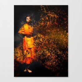 Particle Monk Canvas Print