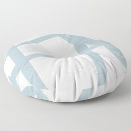 Soft line art Floor Pillow