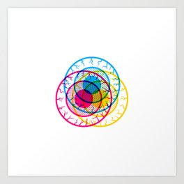 Eye Caramba! Art Print