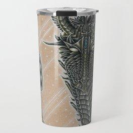 Metallic Dragon Travel Mug