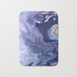 Ocean Abstract Art Bath Mat