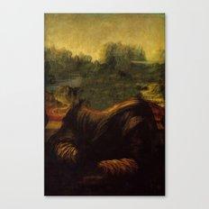 NO MONA LISA Canvas Print