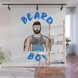 Beard Boy: Mr Alessandro 2 Wall Mural
