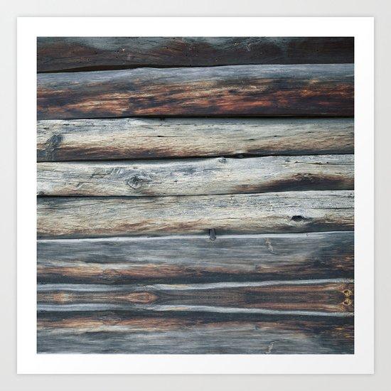 wood 2A Art Print