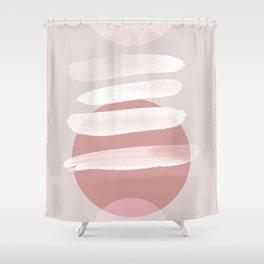 Minimalism 18 Shower Curtain