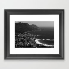Camps Bay Cape Town Framed Art Print